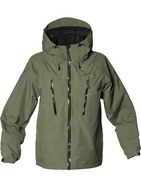 Isbjörn Teens Monsune Hard Shell Jacket Moss